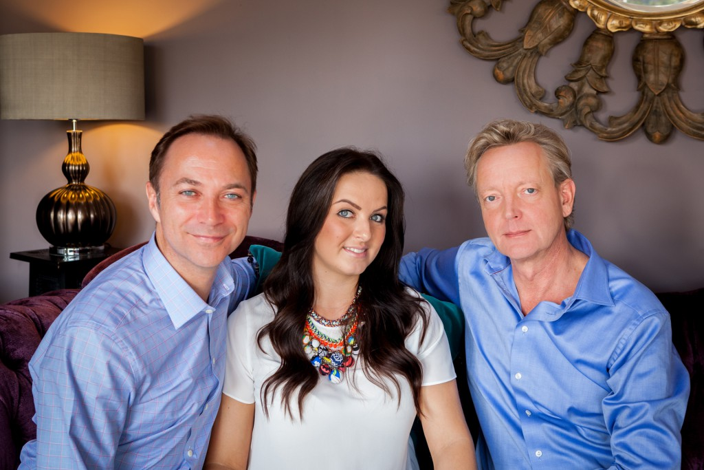 The Jamie Hempsall Interiors Team - Richard Bond; Samantha Waterhouse; Jamie Hempsall