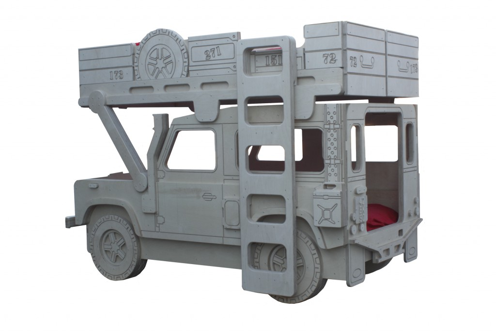 Mid Week Qu - Land Rover 90 bunkbed