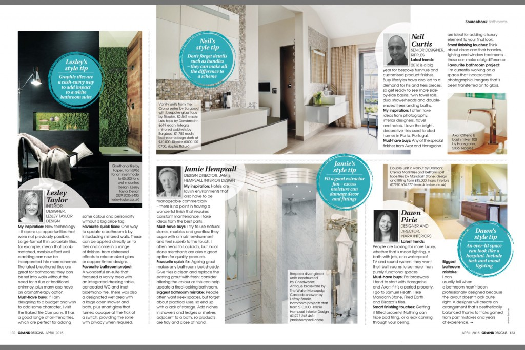 Grand Designs Mag April 2016 P3 and 4