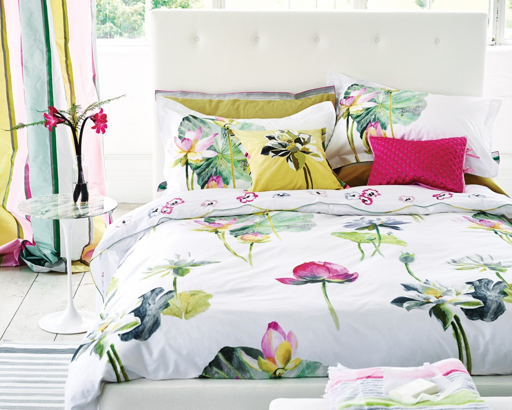 Nymphaea Peony Bedding 200TC Percale from