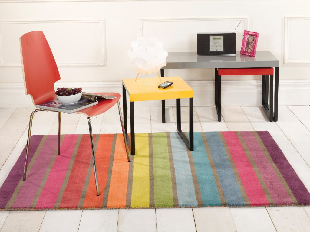 Mid Week RQ - Rainbow Rug from Zed Teen for a the perfect pad