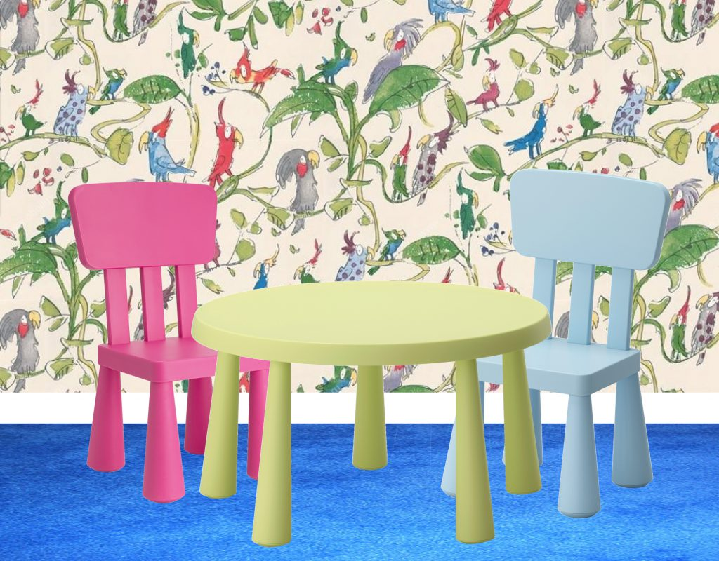 RT Child - Ikea Mammut Table and Chair