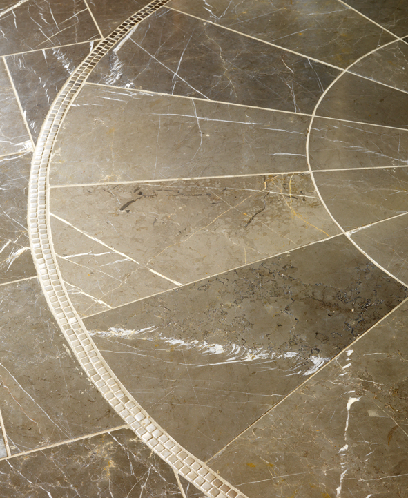 Marble is a beautiful, permanent solution