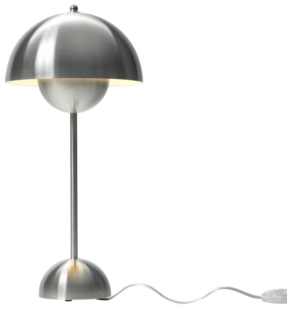 Stainless Steel Flowerpot Table Lamp £319 www.rume.co.uk