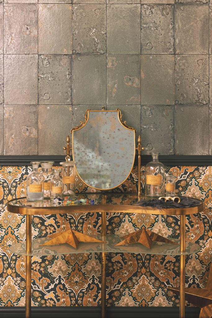 Mariinsky Antique Mirror by Cole & Son