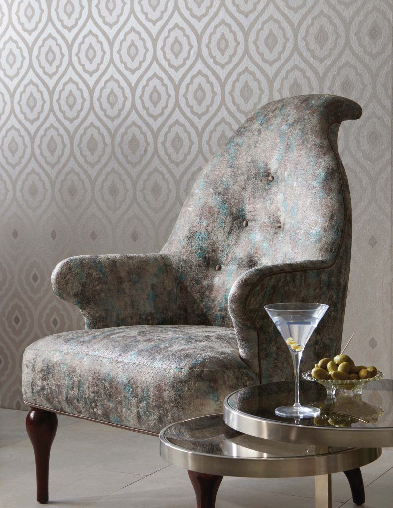 Vignola Wallpaper by Nina Campbell for Osborne & Little