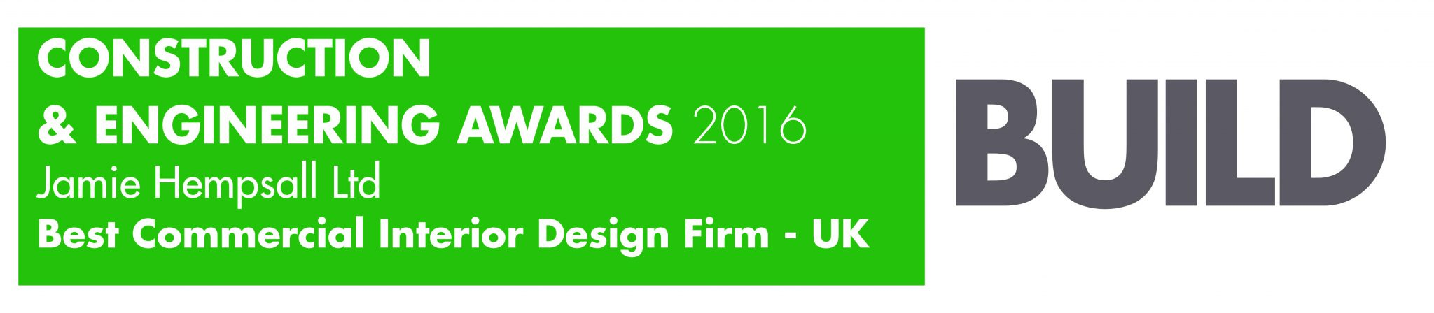 UK Constuction and Engineering awards 2016