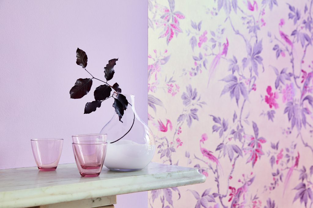 Little Greene new Pink Collection from £38 for 2.5 Ltd of Absolute Matt Emulsion