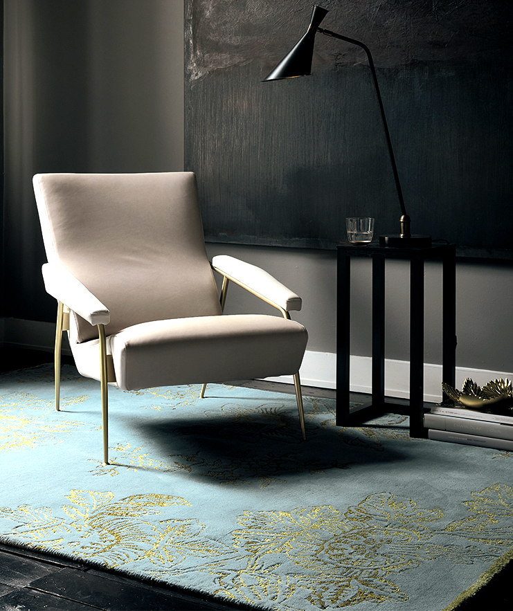 Gold Tonquin Rug by Wedgwood £349 www.therugseller.co.uk