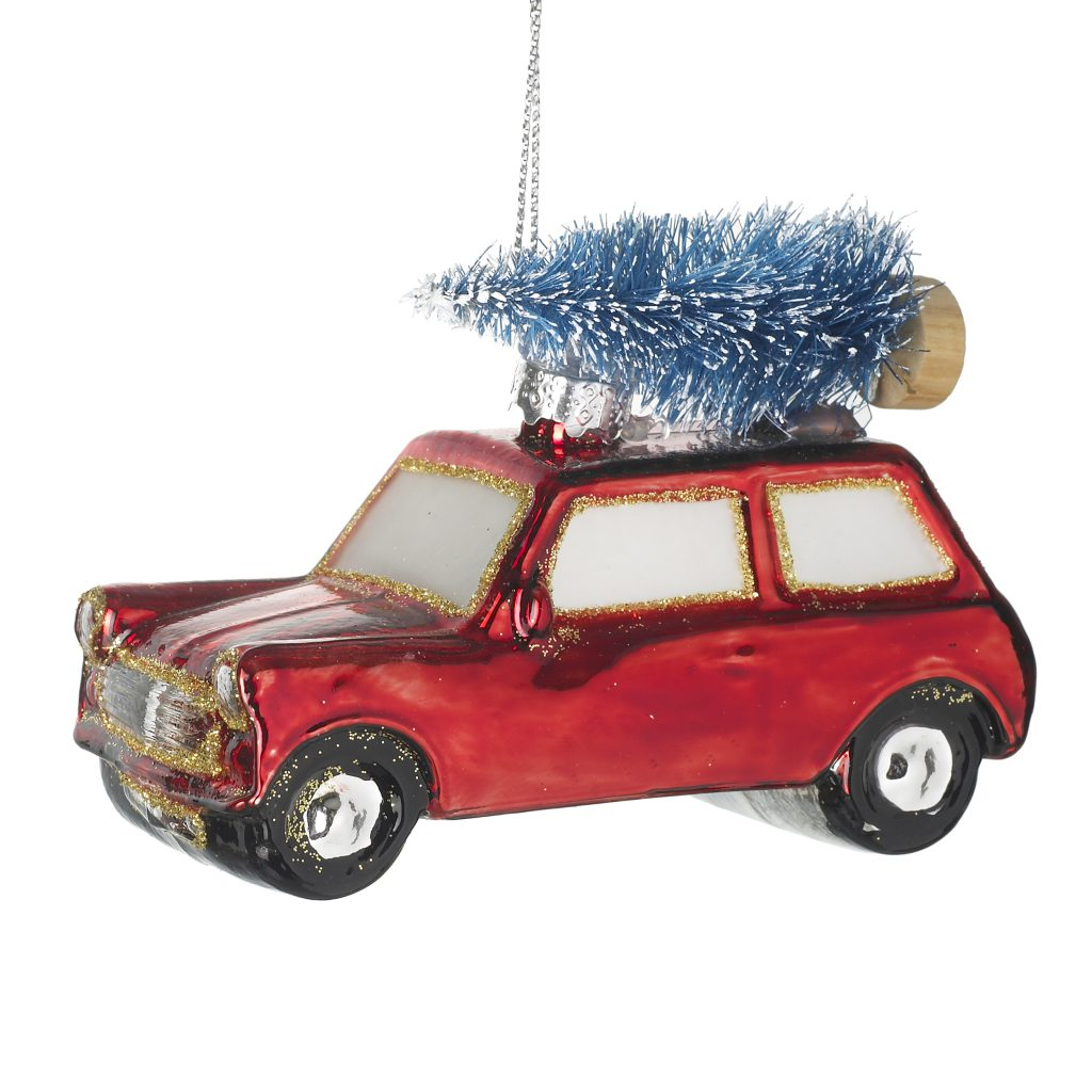 Coming home for Christmas Hanging Decoration £4.95 www.thefarthing.co.uk