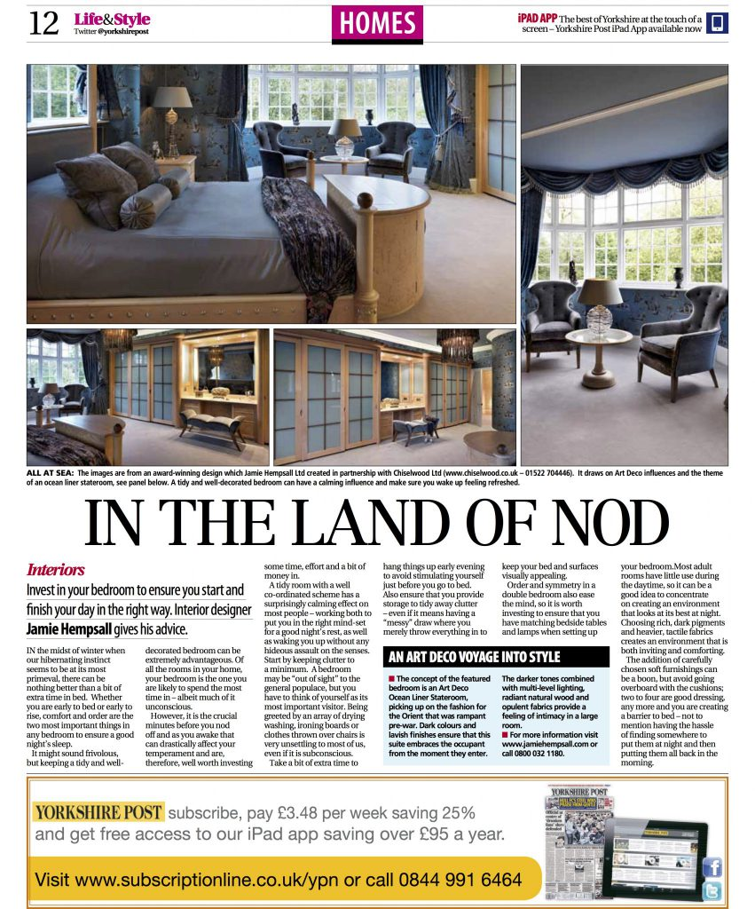 Article As It Ears In The Yorkshire Post 26th Dec 2017